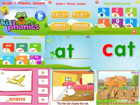 kindergarten level 1 app
