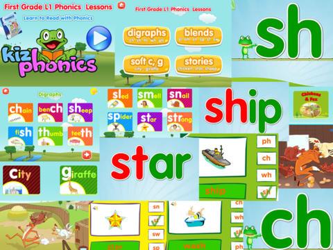 1st grade level 1 app
