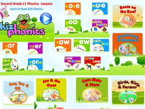 2nd grade level 1 app