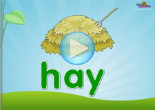 Ay vowel digraph Phonics Video