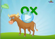 Ox word family Phonics Video