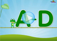 A-D Letter Sounds Phonics Video