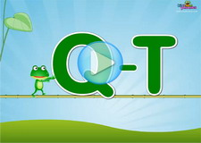 Q-T Letter Sounds Phonics Video