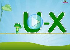 U-X Letter Sounds Phonics Video