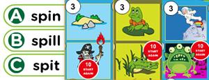 Short 'I' Word Families Game : ib, id, ig, im, in, ip, it, ix