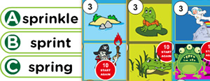 Short 'I' Word Families Game : ick, iff, ink, int, ish, ist, itch
