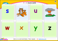 phonemes and graphemes Ss to Zz