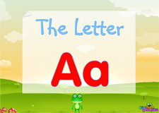 Letter Aa video