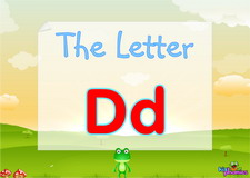 Letter Dd video
