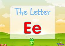 Letter Ee video