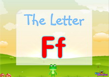 Letter Ff video