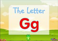 Letter Gg video