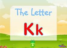 Letter Kk video