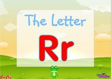 Letter Rr video