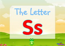 Letter Ss video