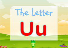 Letter Uu video