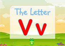 Letter Vv video