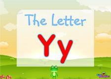 Letter Yy video