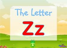 Letter Zz video