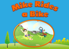Mike Rides a Bike video