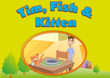 Tim, Kitten & Fish video