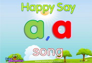 Short 'A' Phonics Warmer Song