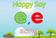 Short 'E' Phonics Warmer Song