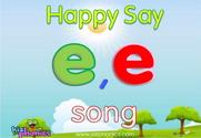 Short 'E' Phonics Warmer Song