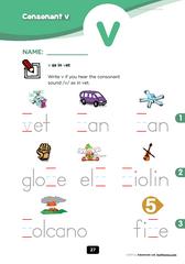 consonant v