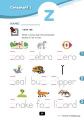 consonant z