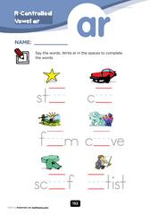 r-controlled vowel ar