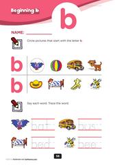 beginning consonant Bb