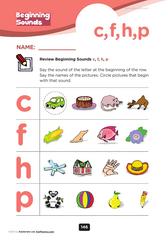 beginning consonants '