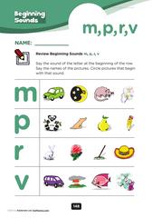 beginning consonants