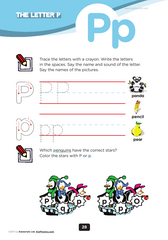 preschool letters of the alphabet worksheets