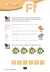 pre-k alphabet worksheets