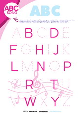 ABC Song Sheet