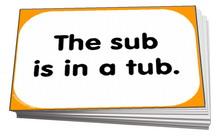 sentences with short u