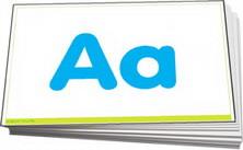 Plain alphabet letters