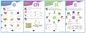 First grade phonics worksheets