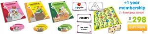 Phonics books preschool to kindergarten level 2