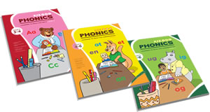 kindergarten phonics books