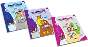 1st and 2nd Grade Phonics Books