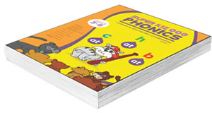 kids phonics book for kindergarten