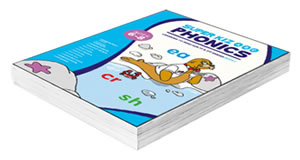 1st and 2nd grade phonics book